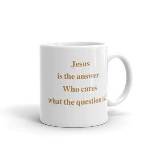 Jesus Is the Answer–Joe Sixpack