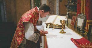 latin mass priest